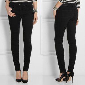 Rag & Bone High Rise Skinny Black Jeans size 28
